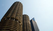 Free Chicago Marina Towers Stock Photos - 28554003