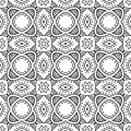 Free Graphic Floral Detailed Seamless Vector Pattern Royalty Free Stock Photo - 28560495