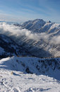 Free View To The Mountains From Snowbird Ski Resort In Utah, USA Royalty Free Stock Photo - 28560555