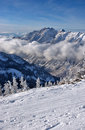 Free Spectacular View To The Mountains From Snowbird Ski Resort In Utah Stock Images - 28560584