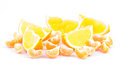 Free Mandarin And Orange, Slices Royalty Free Stock Photos - 28561158