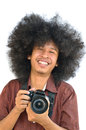 Free Smiling Photographer Royalty Free Stock Photography - 28562367