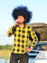Free Young Man On The Cellphone Royalty Free Stock Photos - 28562368