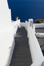 Free Santorini, The Stairway To The Sea Stock Photography - 28564212