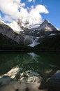 Free Snow Mountain Reflection Stock Photography - 28564522