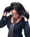 Free Girl In Glasses Stock Photo - 28565230