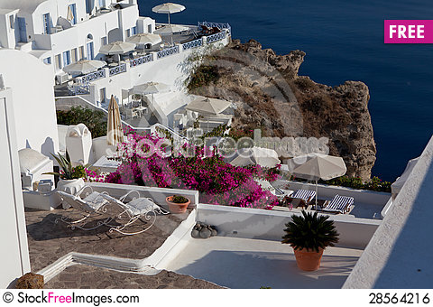 Free Santorini Greece Royalty Free Stock Image - 28564216