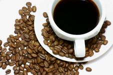 Free Cup Of Coffee Stock Image - 28561261