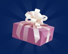 Free Lilac Gift Royalty Free Stock Photography - 28565967
