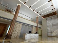 Free Lobby Interior Royalty Free Stock Image - 28566846