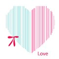 Free Valentines Day Pink Hearts On White Background Royalty Free Stock Images - 28576329