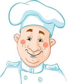 Chef Cartoon Royalty Free Stock Photos