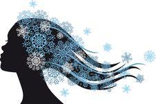 Free Snow Queen Royalty Free Stock Photos - 28571818