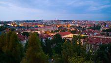 Free Prague In Twilight Royalty Free Stock Photos - 28572408