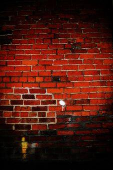 Free Interior Brick Wall: Hard Light Stock Photo - 28572650