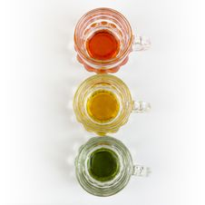 Free Three Little Pitchers In A Row Stock Photography - 28572802