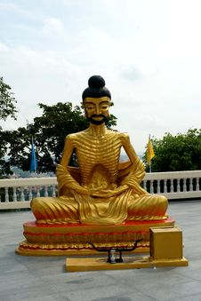 Thailand Golden Buddha Royalty Free Stock Images