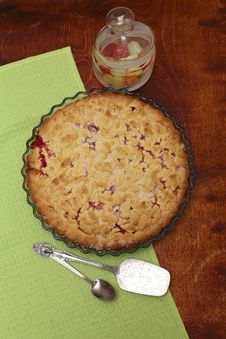 Red Berry Pie Stock Images