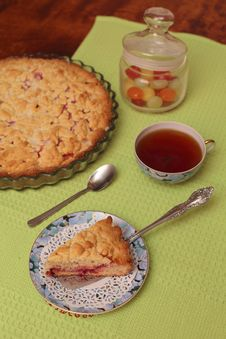 Red Berry Pie Royalty Free Stock Images