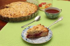 Red Berry Pie Stock Photos