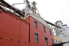 Grain Processing Center Stock Photos