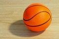 Free Basketball Ball On The Floor Stock Image - 28581321