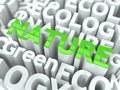 Free Nature - Green Word. Royalty Free Stock Image - 28582056