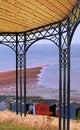 Free Pergola Arbor Garden Overlooking Sea Stock Images - 28587844