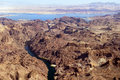 Free Aerial View Of The Colorado River And Lake Mead Stock Images - 28588984