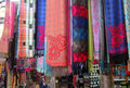Free Colorful Scarves At A Market Royalty Free Stock Image - 28589076
