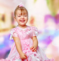 Free Girl In The Mall Holding A Gift Royalty Free Stock Photo - 28589925