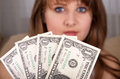 Free Eyes And Currency Stock Photo - 28589950