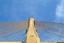 Free Cable Bridge Stock Photography - 28580812