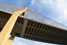Cable Bridge Stock Images