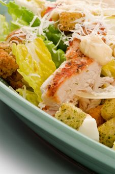 Free Caesar Salad Stock Image - 28581551