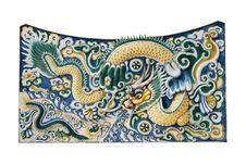 Free Dragon Wall Stock Photos - 28582363