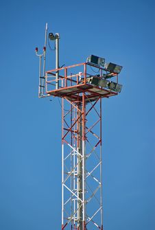 Free Security Tower Royalty Free Stock Images - 28583579