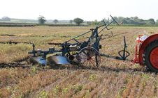 Free Vintage Plough. Royalty Free Stock Image - 28588366
