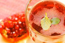 Free Pomegranate Juice Stock Photography - 28589302