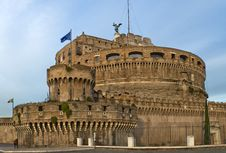 St. Angelo Castle In Rome, Italy Royalty Free Stock Images
