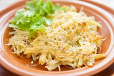 Free Potato Pancakes With Cheese Stock Images - 28589774