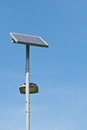 Free Solar Cell Lamp Royalty Free Stock Image - 28591196
