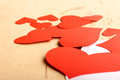 Free Hearts Poured Out From The Envelope Stock Images - 28592084