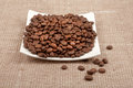 Free Grain Coffee In The Saucer Stock Photo - 28592090