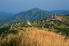 Free Temple Landscape At Khao Kho Stock Image - 28592941
