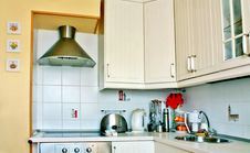 Free Interior Of A Kitchen Stock Photography - 28593722