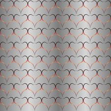 Free Background, Seamless Pattern, Hearts Stock Photo - 28595420