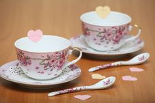 Free Valentine Tea Royalty Free Stock Photography - 28595427