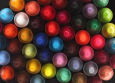 Multi Color Pastel&x28;crayon&x29; Pencils For Children&x28;kids&x29; Stock Photography