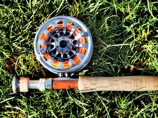 Free Rod And Reel Royalty Free Stock Photo - 28599305